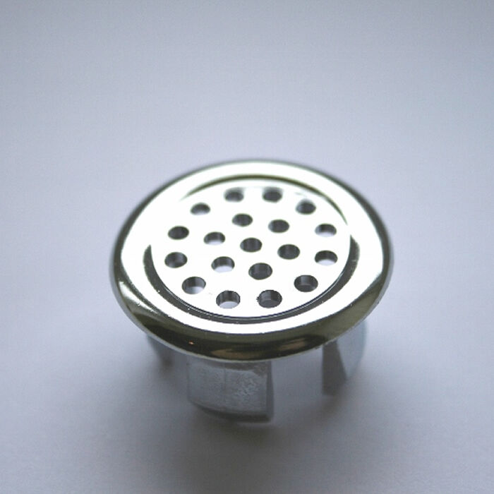 Bathroom Basin Ceramic Sink 1x Slotted Hole Overflow Cover