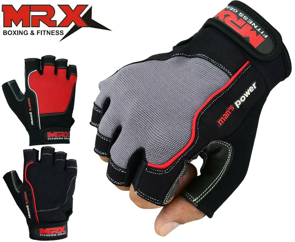 MRX Weight Lifting Gloves Fitness Gym Training Glove ...