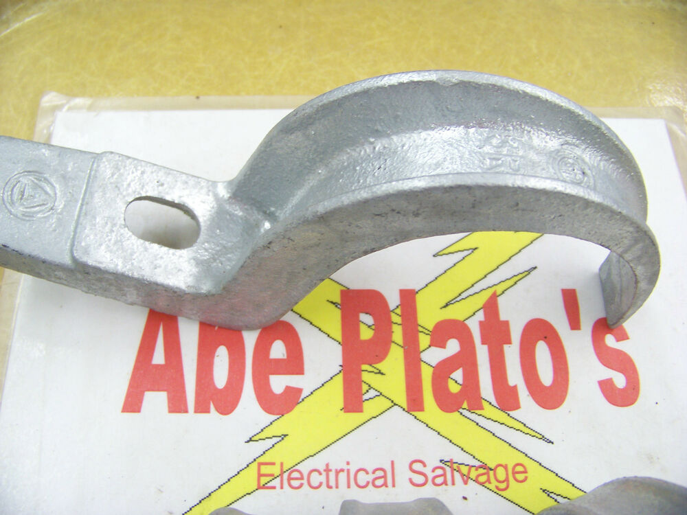 Appleton one hole pipe strap malleable iron r for