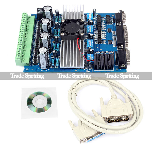 Tb6560 4 Axis 3 5a Stepper Motor Driver Controller For: 4 axis stepper motor controller