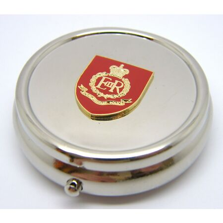 img-THE ROYAL MILITARY POLICE ARMY BADGE PILL BOX TABLET CHOICE SQUARE ROUND