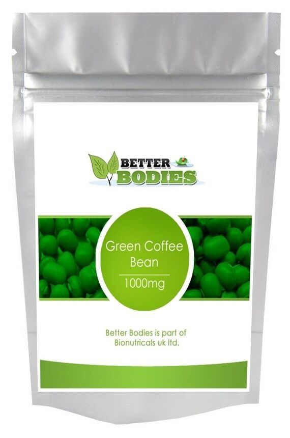 60 GREEN COFFEE BEAN EXTRACT WEIGHT LOSS SLIMMING DIET ...