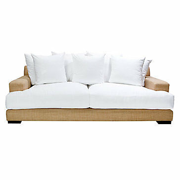 White Sofa And Matching Chair Palisades Zgallerie Ebay