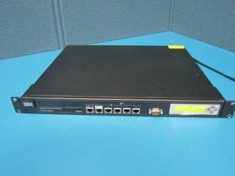 Ibm Proventia Network Mx3006 Internet Security Systems