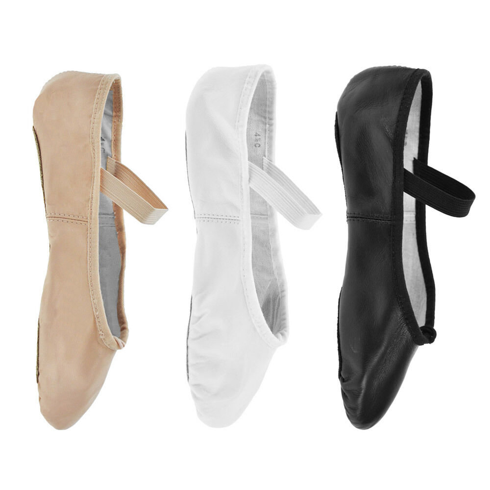 bloch 209 arise leather ballet shoes black pink or
