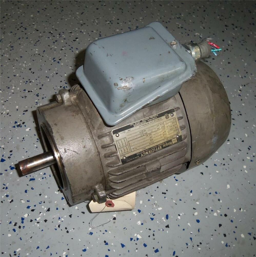 Toshiba 2hp 4 pole 230 460v 60hz 3 phase induction for 2 hp 3 phase motor
