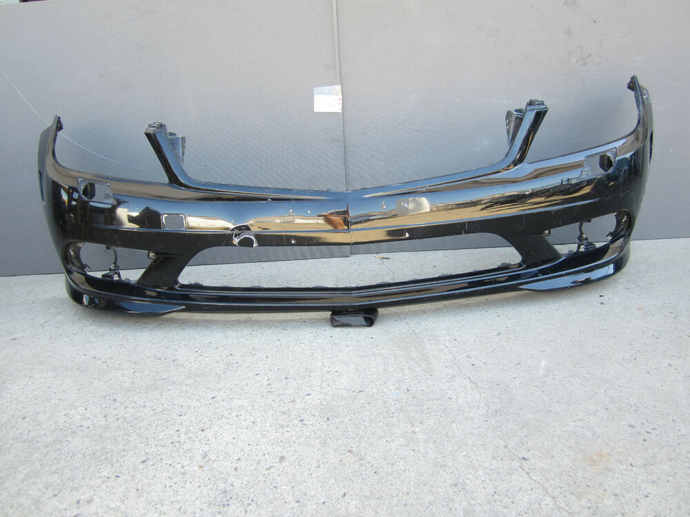 Mercedes c class front bumper cover amg 2008 2009 10 oem for Mercedes benz c300 aftermarket accessories