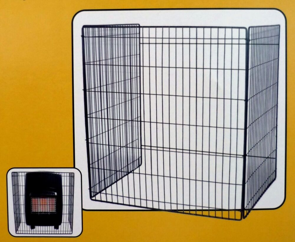 Gas Fire Heater Safety Screen Child Guard 62cm X 52cm B New Ebay