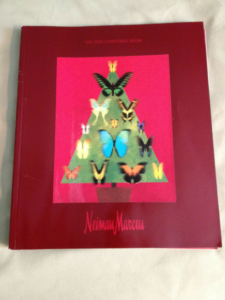 Estate 1999 neiman marcus christmas book catalogue with for Neiman marcus christmas cards