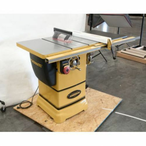 New powermatic pm1000 table saw w 30 accu fence 1791000k ebay Used table saw