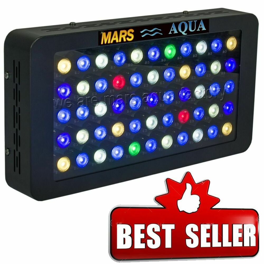 marsaqua 165w dimmable led aquarium light full spectrum coral reef lps sps tank 600740980404 ebay. Black Bedroom Furniture Sets. Home Design Ideas