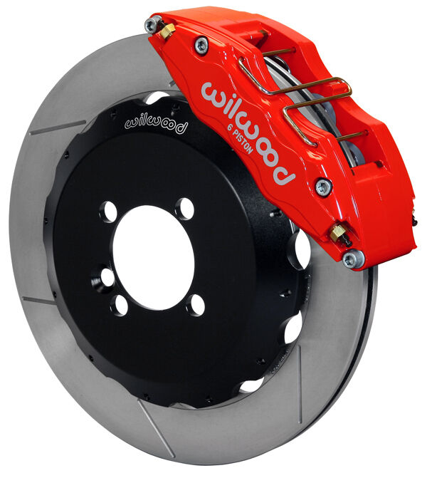 wilwood disc brake kit front mini cooper 13 rotors 6 piston red calipers ebay. Black Bedroom Furniture Sets. Home Design Ideas