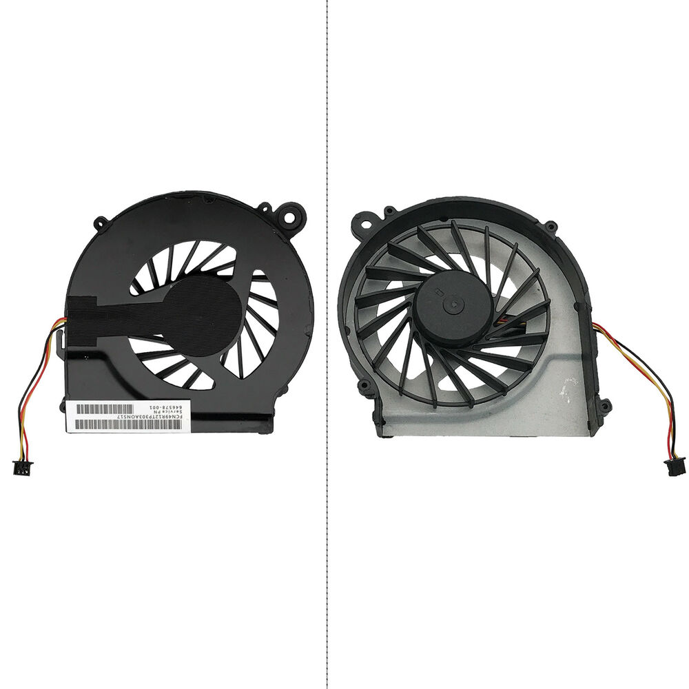 hp laptop fan replacement instructions