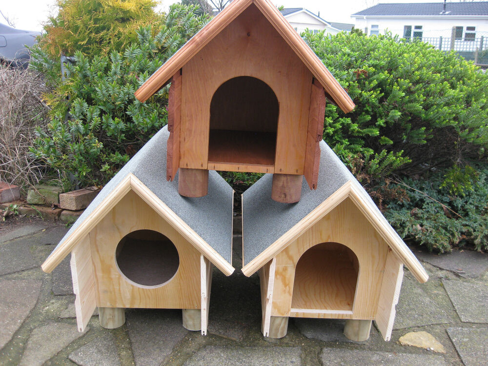 Outdoor Shelters For Dogs : Top quality outdoor shelter cat small dog rabbit house