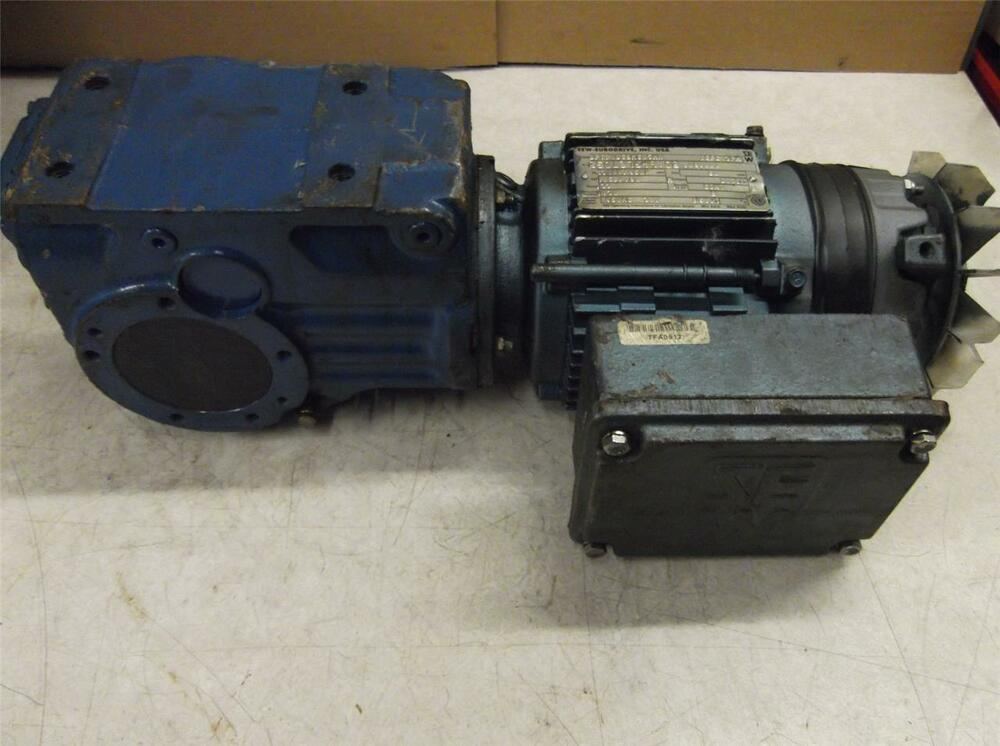 Sew Eurodrive Dft71d4bmg05hr Gear Motor Price Reduced