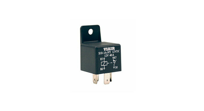 viair 40 amp relay for 12 volt onboard air systems train horn kits ebay. Black Bedroom Furniture Sets. Home Design Ideas