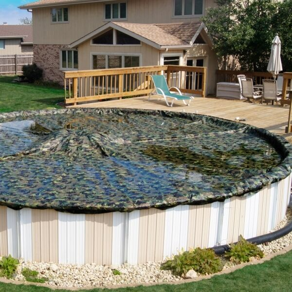 Camo Man Above Ground Winter Pool Cover 20 Yr Bust Out Sale All Sizes Ebay
