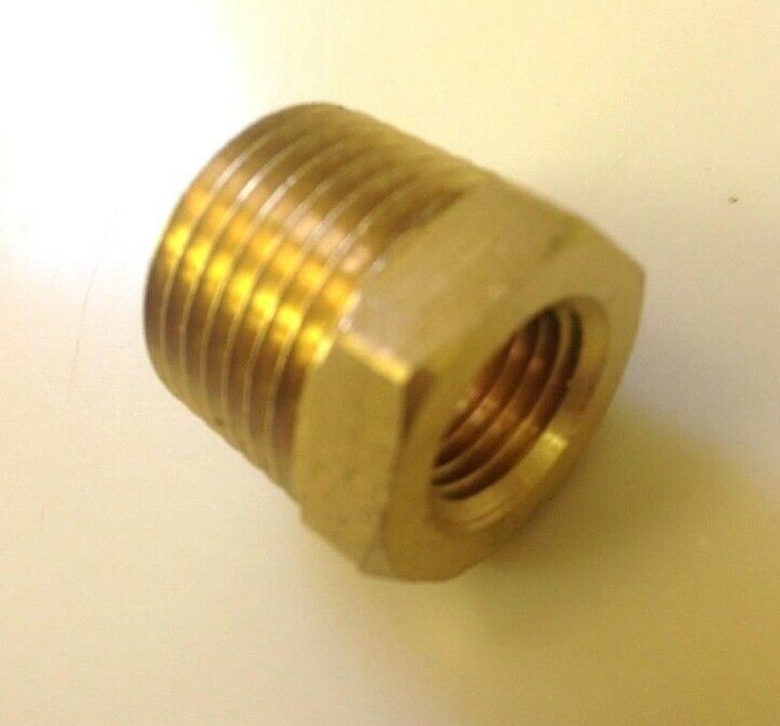 Brass pipe fitting reducing hex head bushing quot npt