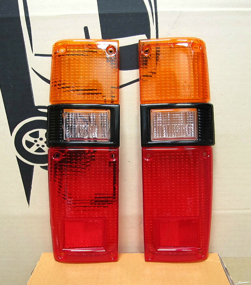 fits 79 83 toyota pickup black trim rear tail light lamp. Black Bedroom Furniture Sets. Home Design Ideas