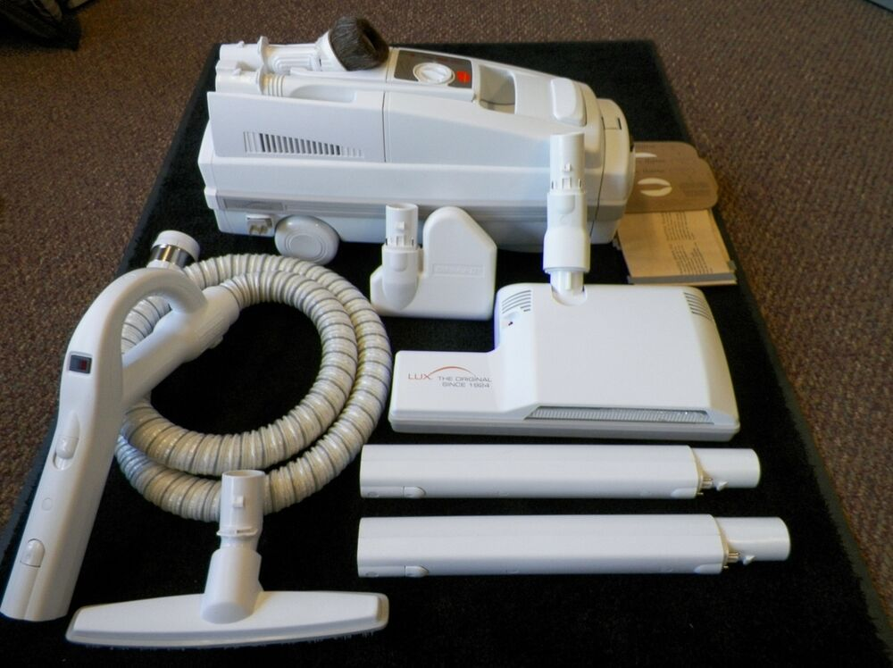Aerus Lux Legacy Canister Vacuum Cleaner Loaded W