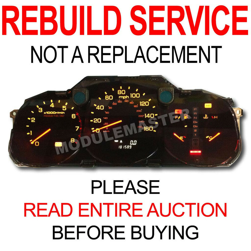 96 97 98 99 00 Acura RL Instrument Cluster LED Upgrade