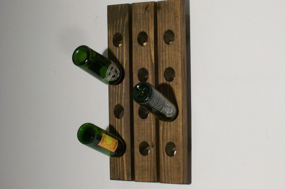 How To Buy Wall Mounted Wine Rack : How To Buy Wall Mounted Wine Rack : Wood Wall Hanging Wine Rack