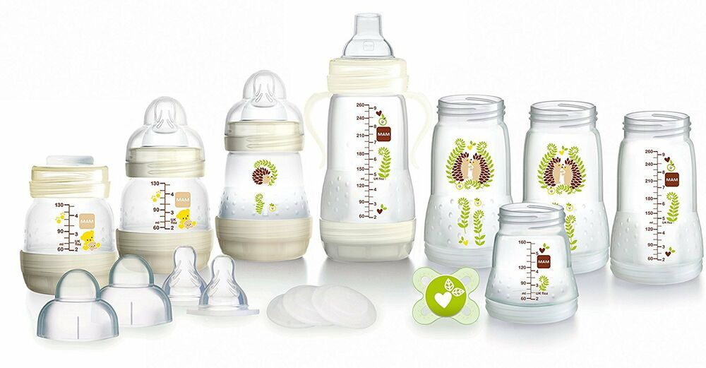Mam Bottle Starter Set The Bottle That Grows With Baby