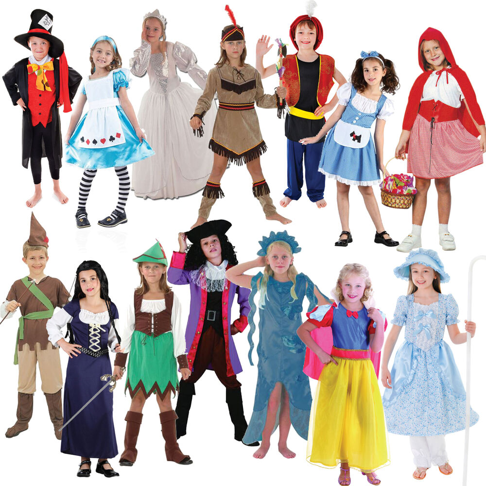 Cartoon Characters You Can Dress Up As : Kids fancy dress book week costume day