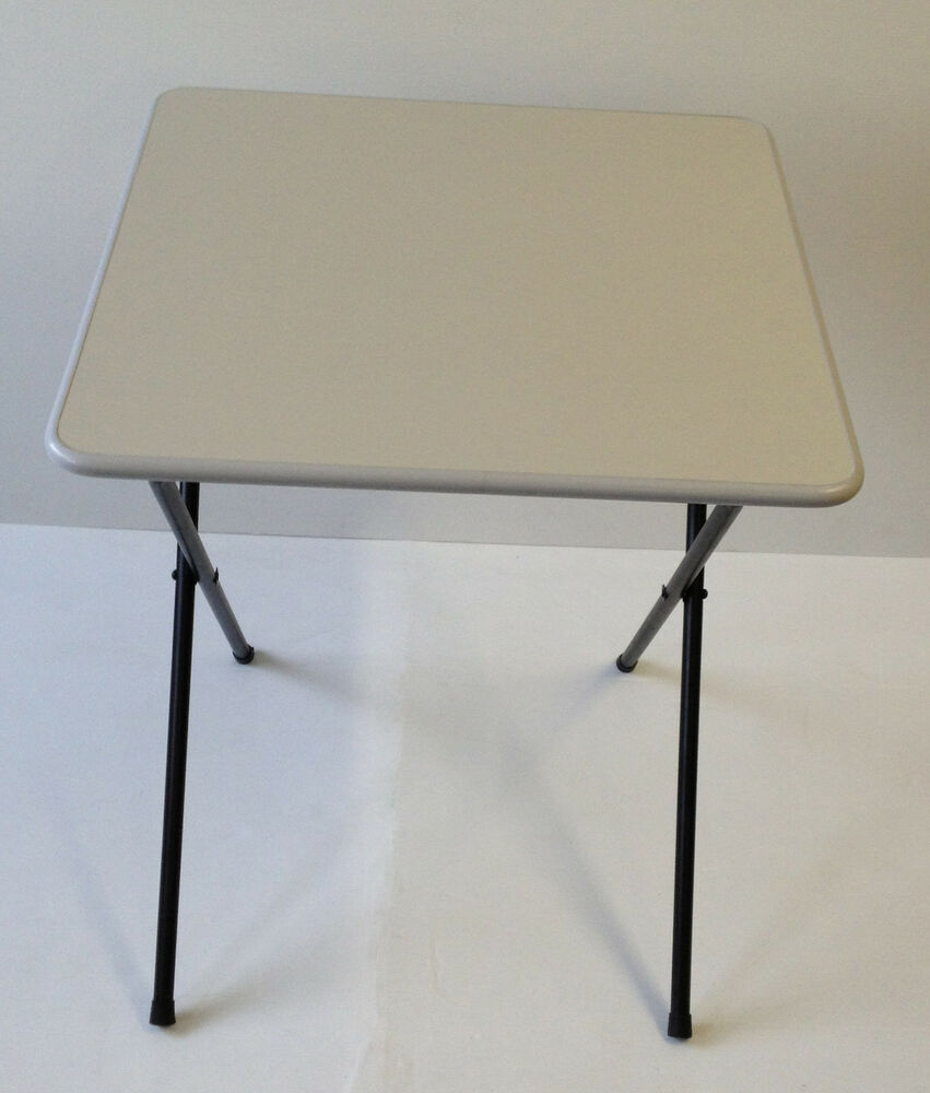 Folding Exam Classroom Coffee School Bistro Cafe Laptop Computer Camp Desk Table Ebay