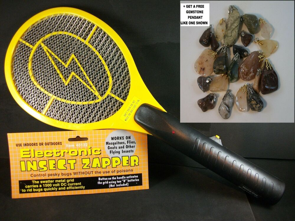 High Voltage Weeder : High voltage power electric fly bug mosquito insect