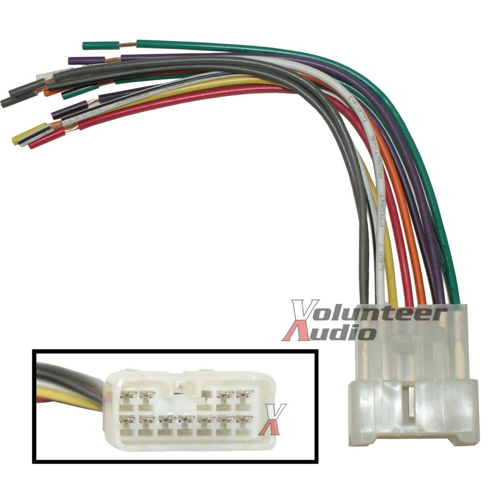 Suzuki Car Stereo Cd Player Wiring Harness Wire