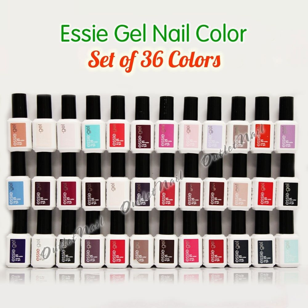 NEW ESSIE GEL Nail Polish Collection - SET OF 36 Colors Complete WHOLE KIT LOT  | eBay