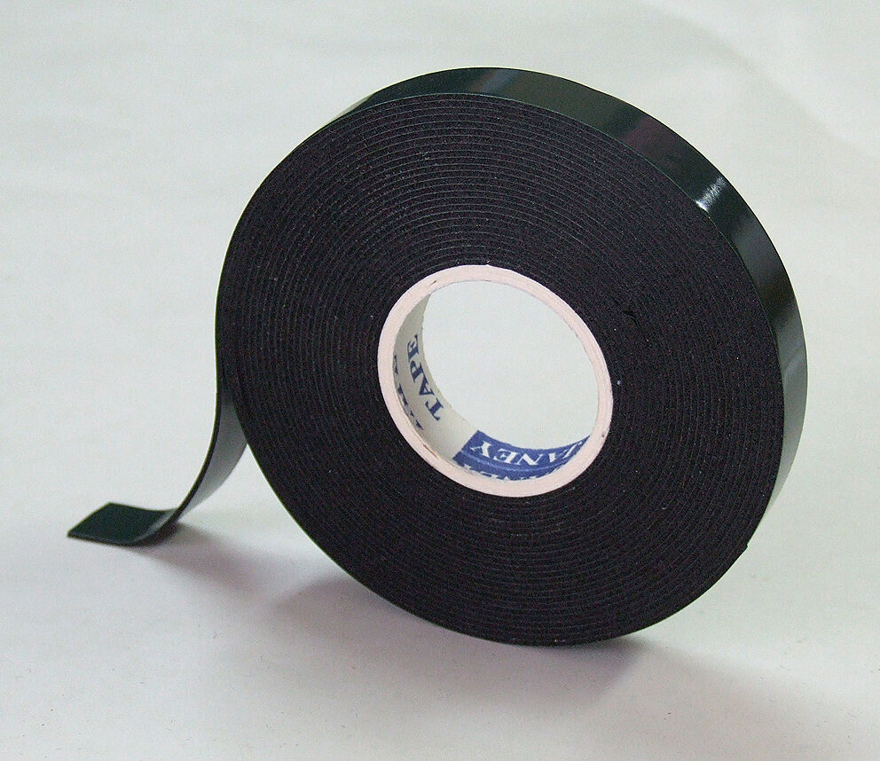 Strong Black Double Sided Self Adhesive Tape Foam 10mm X