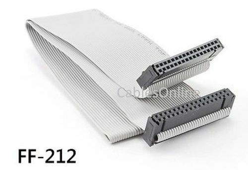 34 Pin Ribbon Cable : Ft pin mm pitch idc female to ribbon cable