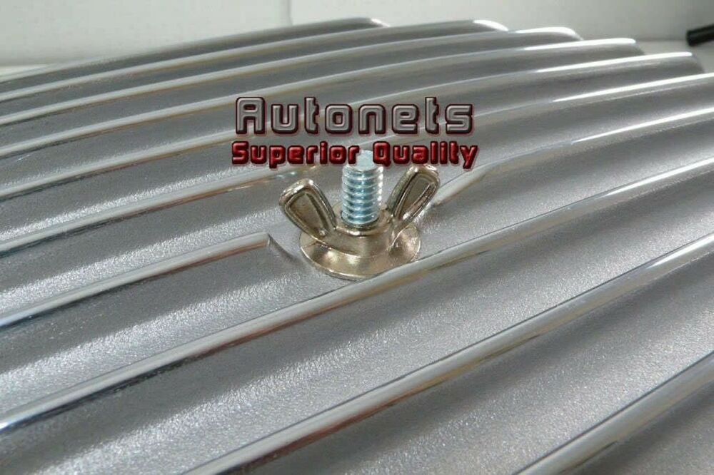 Air Cleaners For Wing Nuts : Chrome steel air cleaner wing nut chevy ford gm