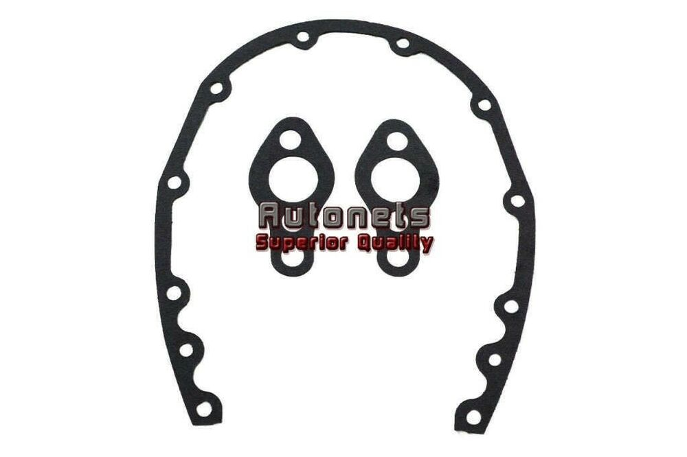 chevy small block timing chain cover gasket sbc 283 305