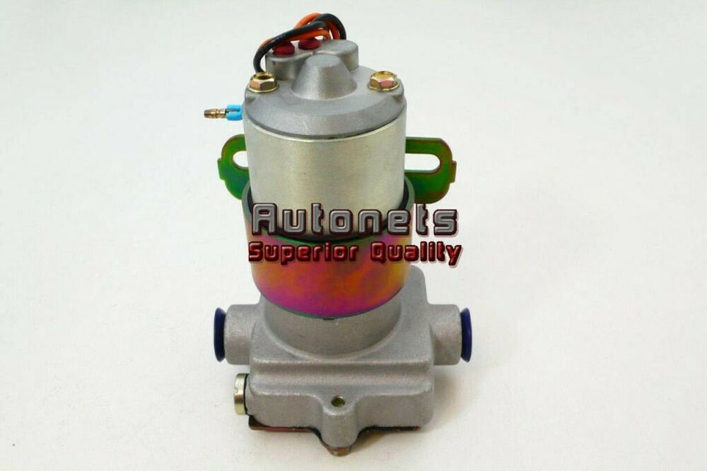 Street Rod Fuel Pump : Chevy ford gm anodized aluminum gph electric fuel pump