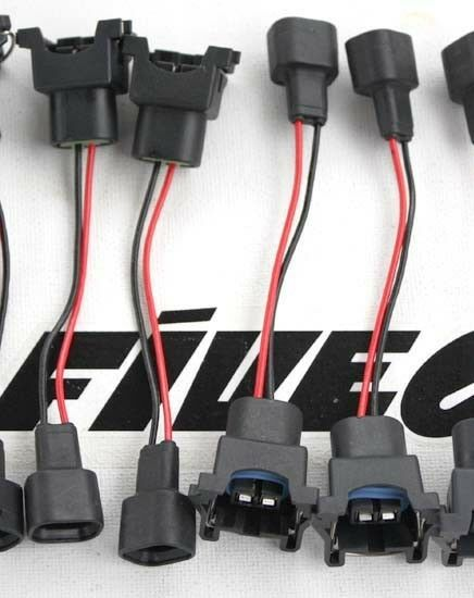 Wired ev to denso sumitomo fuel injector electrical