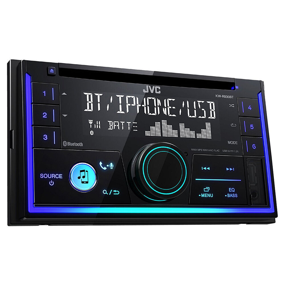 jvc 2 din bluetooth usb autoradio radio set f r vw polo 4 9n 9n3 passat b5 ebay. Black Bedroom Furniture Sets. Home Design Ideas