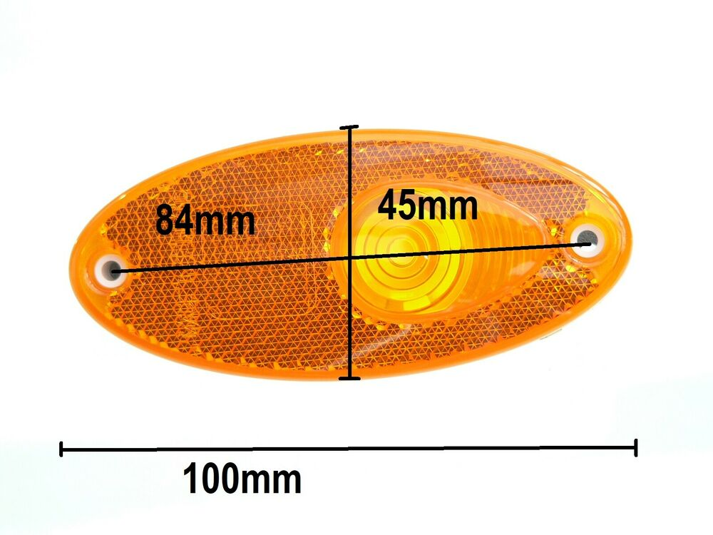 Hella Amber Side Marker Light 12 Volt 5w Bulb For