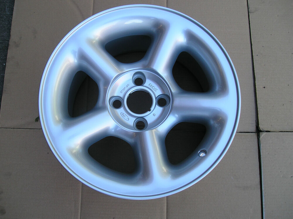 """Ford Racing Parts >> FORD ESCORT RS COSWORTH NEW 8x16"""" Stnd 5 spoke Alloy WHEEL X1.Genuine Ford Part   eBay"""