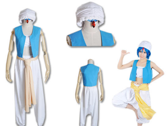 magi aladdin cosplay costume adult sizes anime new ebay. Black Bedroom Furniture Sets. Home Design Ideas