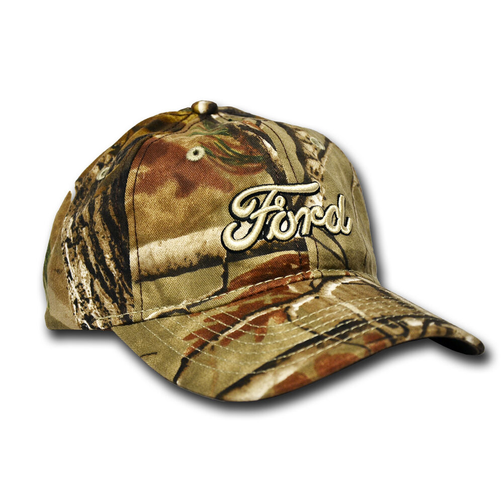 New Oem Ford Realtree Camo Baseball Hat Cap One Size
