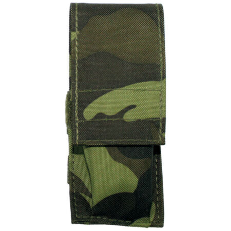 img-SMALL TACTICAL KNIFE POUCH AIRSOFT HUNTING HIKING BUSHCRAFT CZECH WOODLAND CAMO