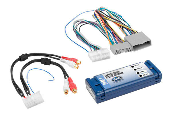honda add rca amp amplifier to factory car stereo radio wiring harness ebay