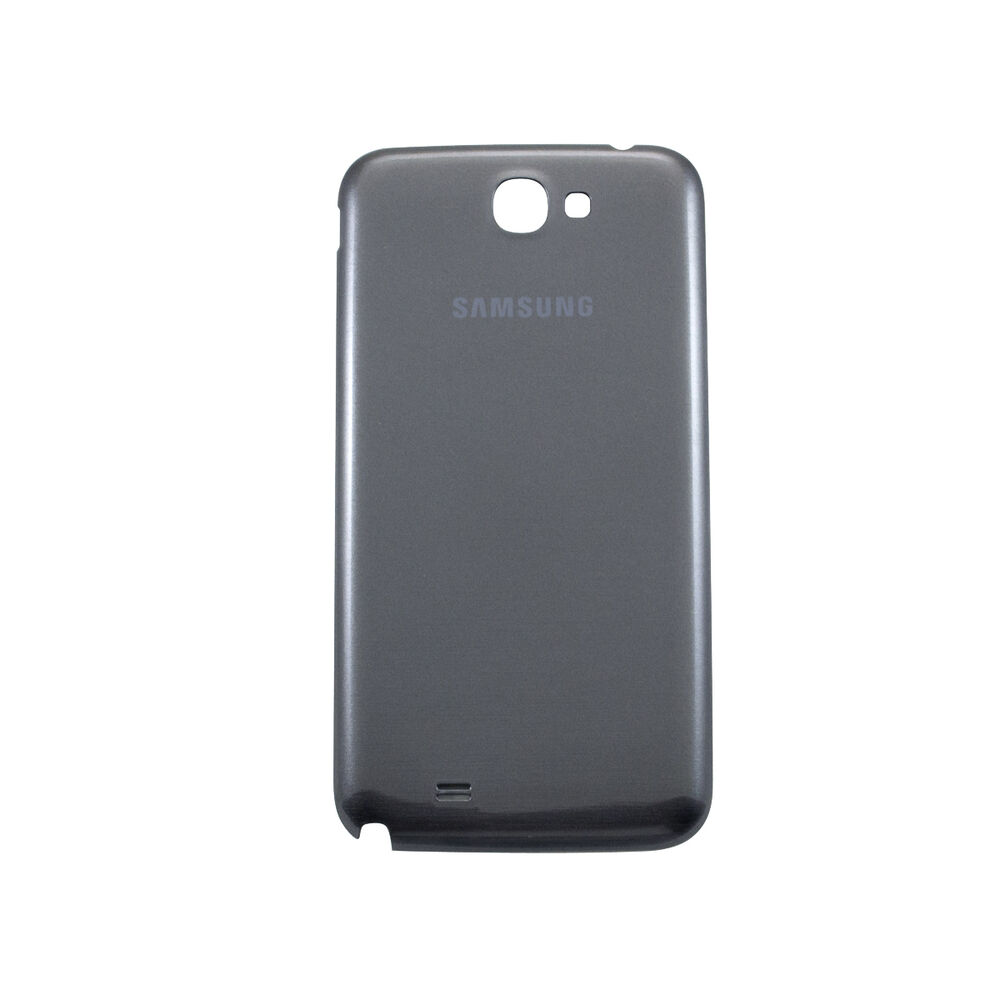 galaxy note 2 back battery cover replacement gray ebay. Black Bedroom Furniture Sets. Home Design Ideas