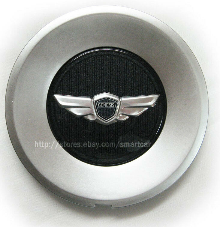 1x 2009 2012 Hyundai Genesis V6 3 8 Oem Wing Wheel Cap For