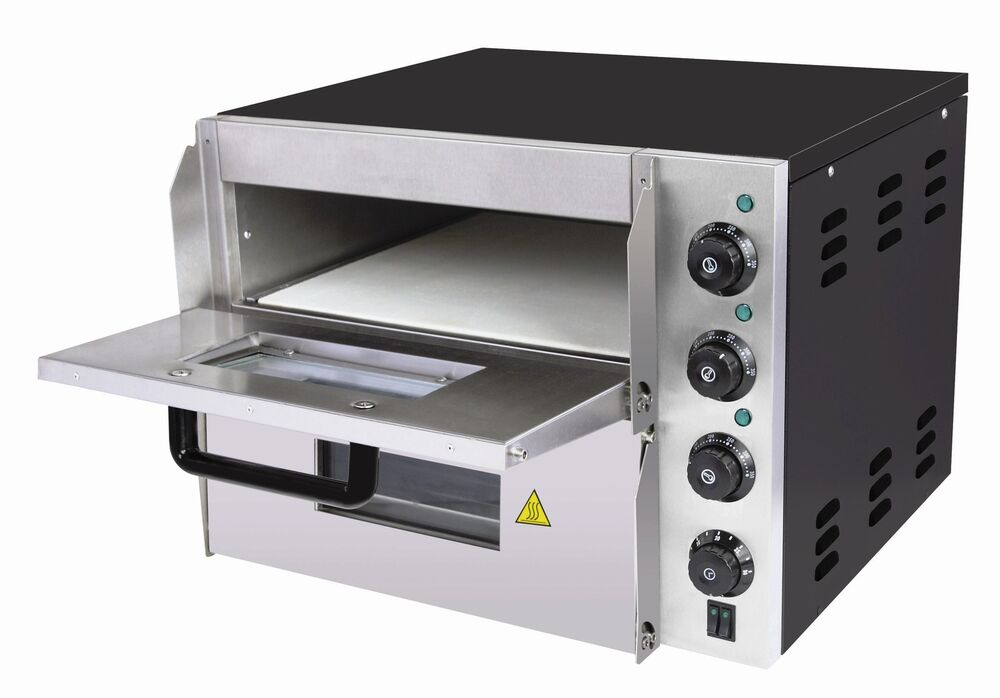Commercial Electric Pizza Oven ~ New twin model deck commercial catering pizza oven