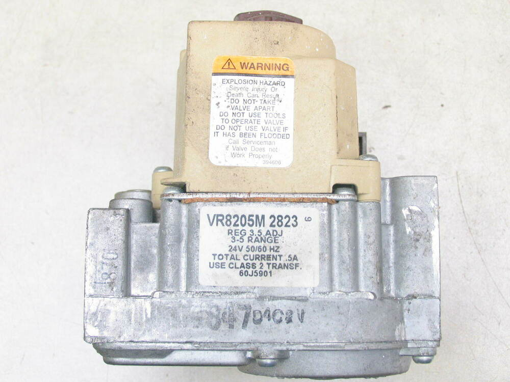 Honeywell Vr8205m2823 Hvac Furnace Gas Valve Ebay