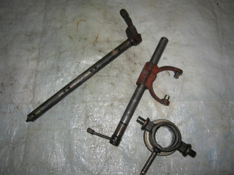 Tractor Supply Pto Shaft Extension : Farmall ih tractor throwout bearing shaft carriers ebay